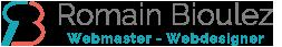 Site CV Romain Bioulez - Webmaster Toulouse