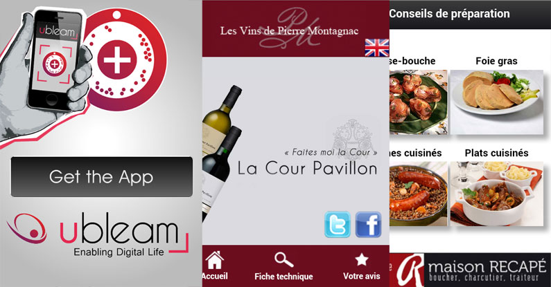 Sites mobiles chez Ubleam