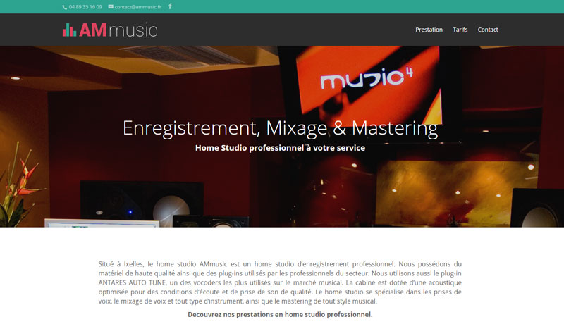 Site studio Ammusic