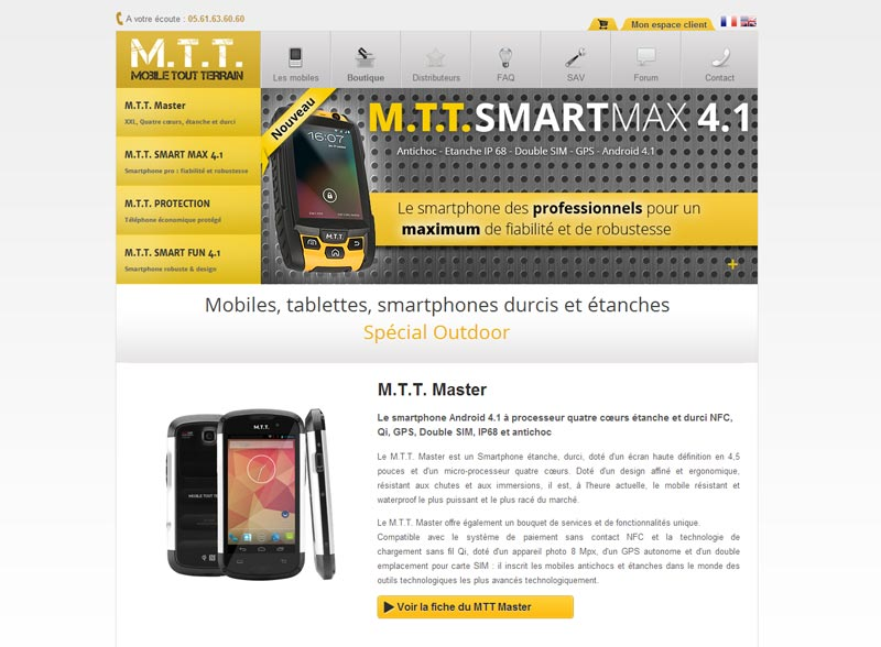 Ancienne version du site